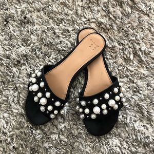 A new day pearl sandals